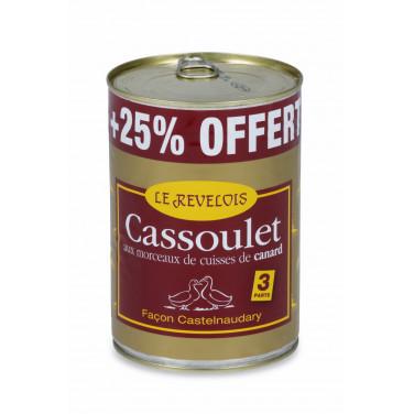 Cassoulet au canard 1050 g