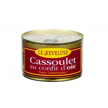 Cassoulet au Confit d'oie...